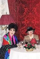 Regina und Madame Vera Kálmán Sacher Wien am 8.3.1998